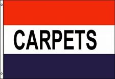 CARPETS Flag 3x5 ft Advertising Sign Banner Rug Flooring Store Sale Furniture