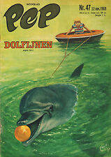 PEP 1969 nr. 47  - HANS G. KRESSE (COVER) / COMICS / DOLFIJNEN