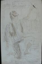 Joyce Conwy Evans c.1973 Original Costume Design - La Perichole Opera