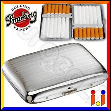 Portasigarette Smoking in metallo astuccio porta sigarette