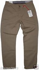 New Ben Sherman  Mens Chino Regular Pants in Burnt Gold Colour Size W:30/ L:32