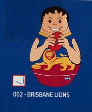 Brisbane Lions AFL Kids Original Inflatable Tackle Buddy 1m Tall New