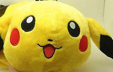 New Pokemon PIKACHU Plush Doll Shoulder Side Bag Fit All Kids And Adult