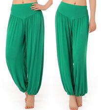Women Harem Trousers Leggings Kids Baggy Aladin Boho Hippy Dance Yoga Pants Long