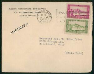 MayfairStamps Cover 1938 to Cincinnati Ohio Algeria 1938 Cover wwp56035