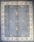 Hand-knotted Rug (Carpet) 8'2X10, Agra mint condition
