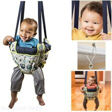 Baby Bouncy Seat Doorway Bumper Swing Owl Jumper Exerciser Safe Play Toy New