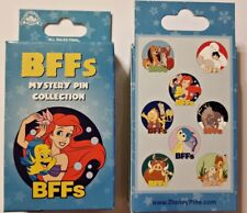 Disney Collectible Pin Pack BFFs Best Friends Mystery Box of 2 Pins Sealed NEW