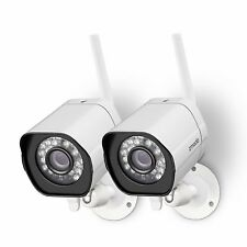 Zmodo 2 1280*720p HD IP Network Wireless Outdoor Home Security Camera System