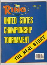 THE RING MAGAZINE UNITED STATES CHAMPIONSHIP TOURNAMENT ISSUE AUGUST 1977