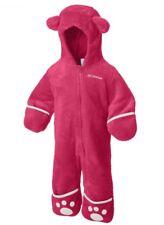 Baby Mädchen COLUMBIA Fleece Overall Kapuze 2-6Monate Anzug Gr 62 / 68 NEU & OVP