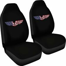Eagle USA Wings Car Seat - Set of 2 Universal Front Seat Covers Protection