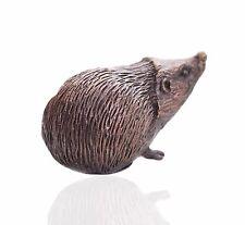 Wildlife Bronze Miniature Sculptures - Hedgehog - Butler & Peach.
