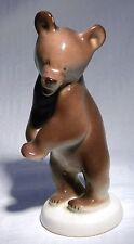 LOMONOSOV USSR BROWN  BEAR STANDING
