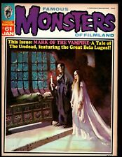 FAMOUS MONSTERS #61 FINE+  (MARK OF THE VAMPIRE) WARREN