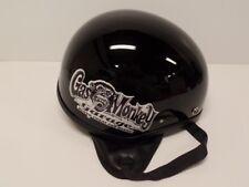 NOS Vintage Half Helmet - XL - Gas Monkey - 2 Bowl Motorcycle Scooter - X Large