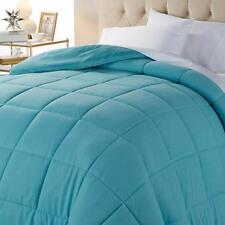 CONCIERGE COLLECTION DOWN ALTERNATIVE COMFORTER TEAL TWIN SIZE