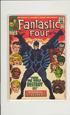 Fantastic Four #46 5.5 FN- Unrestored Marvel 2nd Inhumans 1st full Blackbolt