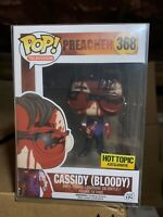 Funko Pop! Cassidy Bloody Hot Topic Preacher 368 *NEW *Vaulted *Protector