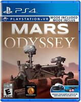 Mars Odyssey Playstation 4 Sony PS4 Rover VR Educational Simulator Game PSVR
