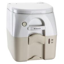 DOMETIC 975MSD PORTABLE TOILET 5.0 GAL TAN W/ BRAC