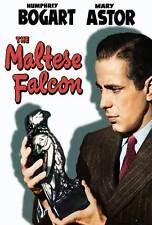 THE MALTESE FALCON Movie POSTER 27x40 J Humphrey Bogart Mary Astor Peter Lorre