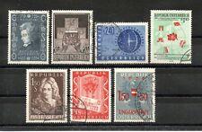 Österreich Jahrgang 1956 komplett gestempelt