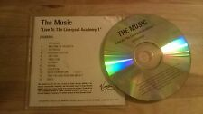 CD pop The Music-Live at Liverpool Academy 1 (12) canzone PROMO VIRGIN