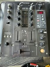 Pioneer Djm 400 2 Channel DJ Mixer