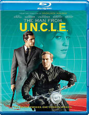 The Man From U.N.C.L.E. (Blu-ray Disc, 2015, 2-Disc Set)