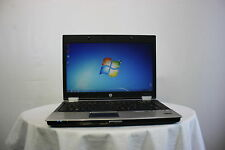 "Laptop Hp Elitebook 8440P 14.1"" i7 2.8Ghz 4GB 320GB Windows 7 Cámara web Grado B + +"