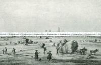 München zu Goethes Zeit - Nach einer Radierung von Kobell - um 1930      W 12-1
