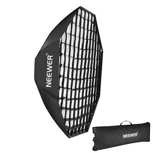 """Neewer 55"""" Portable Octagon Beehive Softbox with Grid Bowens Mount"""