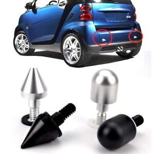 1Pc Car Rear Bumper Spike Guard Protector For SMART Fortwo ED W 451 08-14 Cover