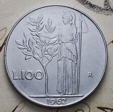 1962  Repubblica Italiana 100 lire   qSPL