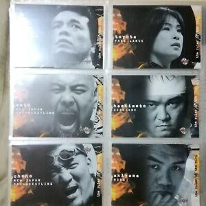 Japanese wrestling 2002 BBM complete card set total 430 cards WWENWAECWWCW