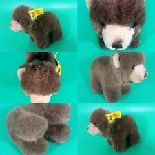"Vintage Steiff Browny Bear Miniature Plush 4"" 1444/12 All Tags 1985-90"