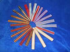 Large Lot 23 Various Soviet Russian Ribbons For Medals Uniform Military Army