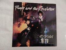 """PRINCE AND THE REVOLUTION """"Let's Go Crazy"""" PICTURE SLEEVE!! BRAND NEW!!"""