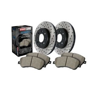 StopTech 938.04003 Street Axle Pack Brake Kit For 12-17 Fiat 500 NEW