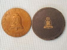 1936 BERLIN OLYMPIC AUTOMOBILE RALLY TABLE BRONZE MEDAL.