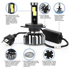 2xSuper Hell 80W 8000LM H4 Cree LED Scheinwerfer Auto Headlight Kit Lampe Birnen