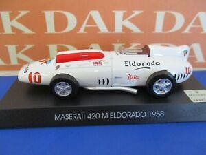 Die cast 1/43 Modellino Auto Maserati 420 M Eldorado 1958 S. Moss