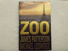 ZOO by James Patterson and Michael Ledwidge  SIGNED  hardcover 1st printing