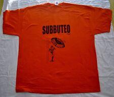 SUBBUTEO TABLE RUGBY T-SHIRT stampa, colore arancione, taglia XL