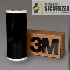 "3M™ scotchlite reflective vinyl tape black color 200mm(8"") x 2 mt helmet bike"