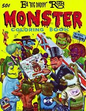 """1965 - RAT FINK - ED """"BIG DADDY"""" ROTH MONSTER COLORING BOOK POSTERS"""