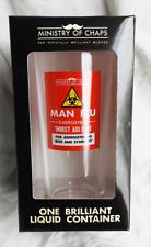 Ministry of Chaps Man Flu Emergency Thirst Aid Unit One Pint Beer Glass  - BNIB