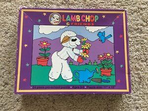 LAMB CHOP & FRIENDS VINTAGE 24 PIECE JIGSAW PUZZLE ADORABLE LAMBCHOP CLASSIC