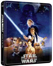 Star Wars Episode VI Return of the Jedi 4K Ultra HD Steelbook 3 Disc Edition